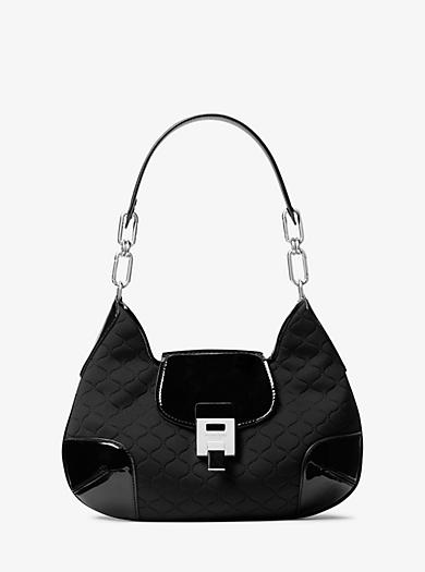 be080239d3 Bancroft Medium Quilted Neoprene Shoulder Bag. michael kors ...