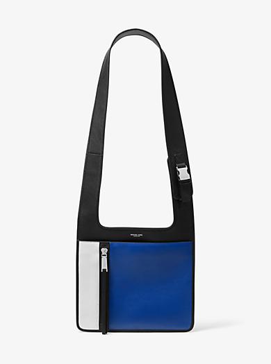 25edd41e6b Huntington Calf Leather Crossbody Bag · michael kors collection ...