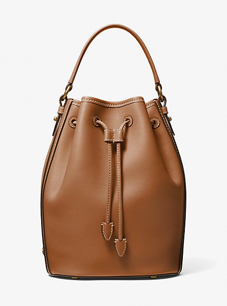 마이클 코어스 모노그램백 미디움 Michael Kors Monogramme Medium Leather Bucket Bag