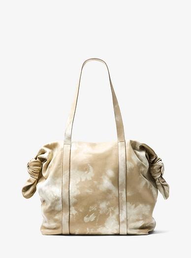 435b942ae246cf Cali Large Tie-dye Leather Tote Bag | Michael Kors