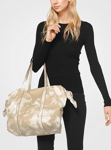 9a978da7b6ea24 Cali Large Tie-Dye Leather Tote Bag. Michael Kors Collection