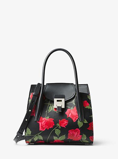 4a1ead4f70c Bancroft Medium Rose Leather Satchel. QUICKVIEW. michael kors collection ...