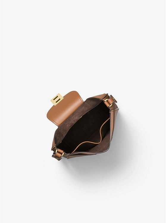 1b4e45bf2d6e Bancroft Pebbled Calf Leather Messenger Bancroft Pebbled Calf Leather  Messenger Bancroft Pebbled Calf Leather Messenger. Michael Kors Collection