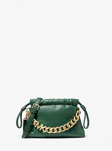 마이클 마이클 코어스 리나백 엑스스몰, 에코 가죽 - 3 컬러 (김세정 착용) Michael Michael Kors Lina Extra-Small Faux Leather Crossbody Bag