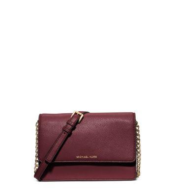 59054b3ecff3d1 Daniela Small Leather Crossbody | Michael Kors