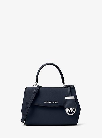 8a28b154e Ava Extra-small Saffiano Leather Crossbody Bag | Michael Kors