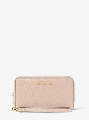 7920a5b7818c Large Leather Smartphone Wristlet