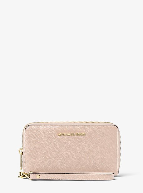 a264dd552f58 Large Leather Smartphone Wristlet · michael michael kors · Large Leather  Smartphone Wristlet