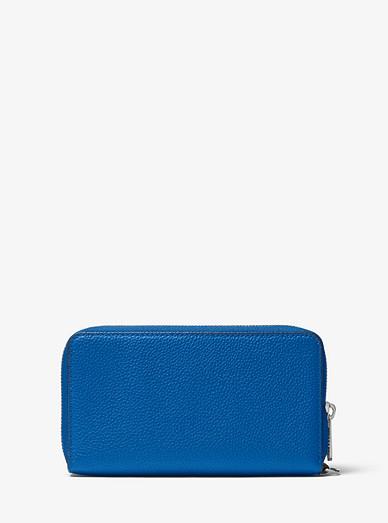 6e1e6d7f59b689 Large Leather Smartphone Wristlet | Michael Kors