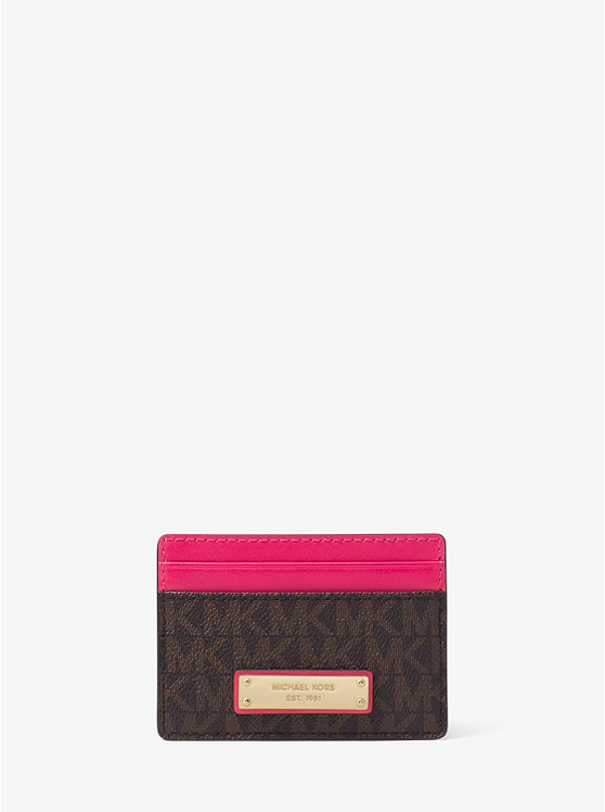 Jet Set Logo Card Case