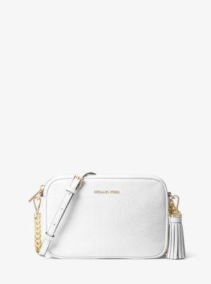 41499d770 Ginny Leather Crossbody Bag | Michael Kors