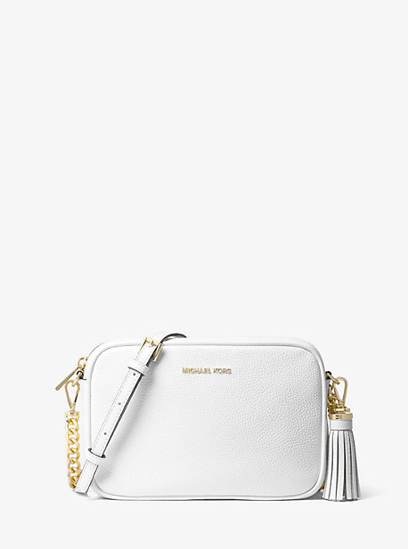 df0b29cab91723 Ginny Leather Crossbody Bag | Michael Kors