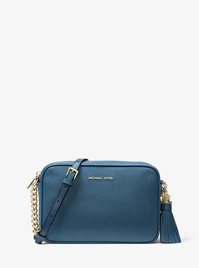 9f20df4d7f71 Ginny Leather Crossbody Bag | Michael Kors