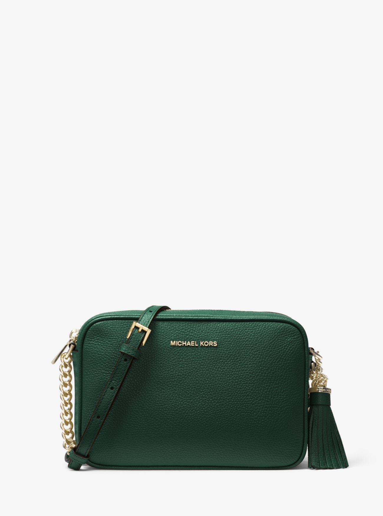 9b04e007e230 Ginny Leather Crossbody Bag Ginny Leather Crossbody Bag Ginny Leather  Crossbody Bag. MICHAEL Michael Kors