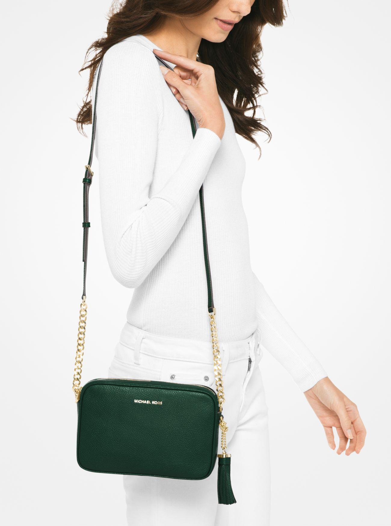 11365076e7253f ... Ginny Leather Crossbody Bag. MICHAEL Michael Kors
