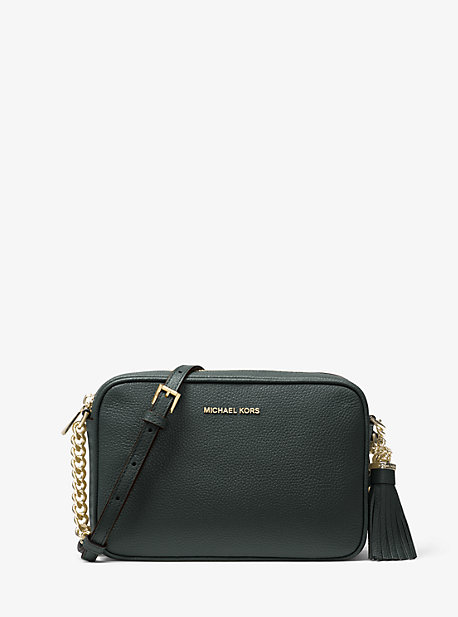Michael Kors Ginny Medium, Women's Cross Body Bag, Blau