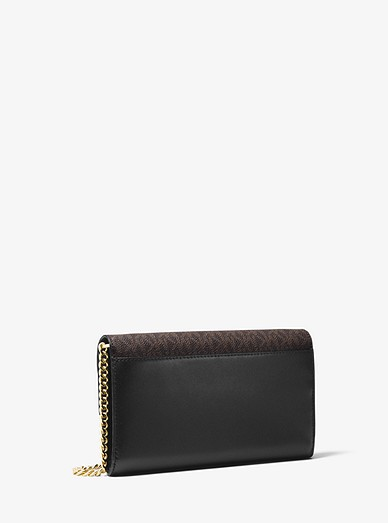 3f0cbcca7f26 Sloan Leather And Logo Chain Wallet