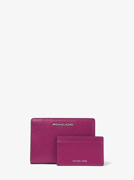 Medium Crossgrain Leather Slim Wallet