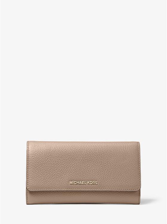 Utgivningsdatum: billig bästa värde Leather Tri-fold Wallet | Michael Kors