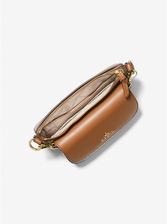 Jet Set Medium Leather and Logo 4-in-1 Crossbody Bag Set VANILLA/ACORN