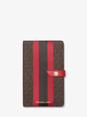 마이클 마이클 코어스 스트라이프 노트북 Michael Michael Kors Medium Logo Stripe Notebook