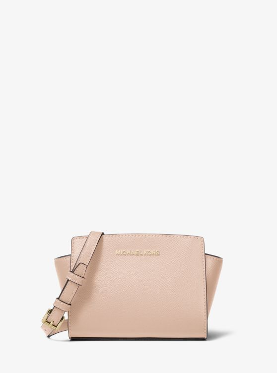 Michael Kors Selma Mini saffiano cross body bag 3eRFILms