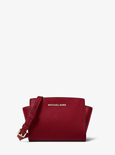 d6699c522886 Selma Mini Saffiano Leather Crossbody | Michael Kors