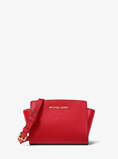 e95b90401f8c Selma Mini Saffiano Leather Crossbody | Michael Kors