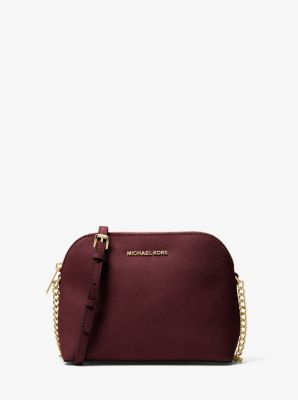 Cindy Large Saffiano Leather Crossbody Bag | Michael Kors