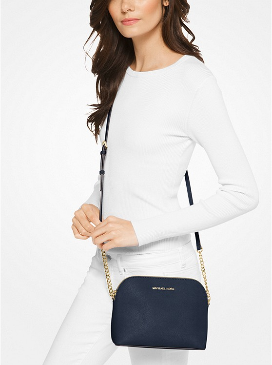 a95010fd546f ... Cindy Large Saffiano Leather Crossbody Bag