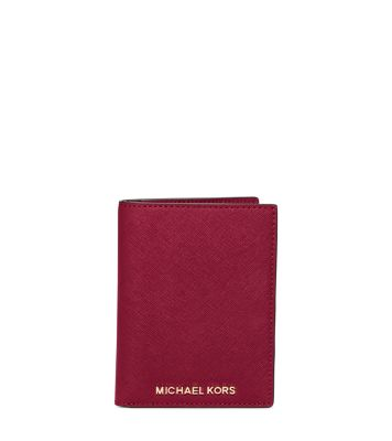 501ae3a5877f Jet Set Travel Saffiano Leather Passport | Michael Kors