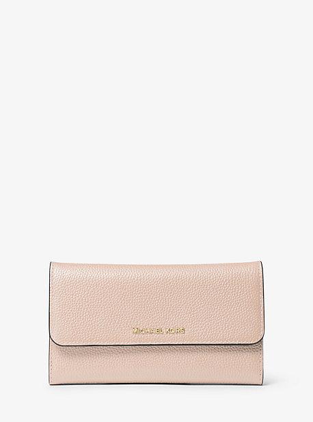 e2ec4aba548c71 Tri-fold Leather Wallet | Michael Kors
