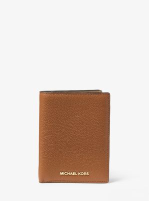 dde2b51d9e9 Travel Leather Passport Wallet | Michael Kors