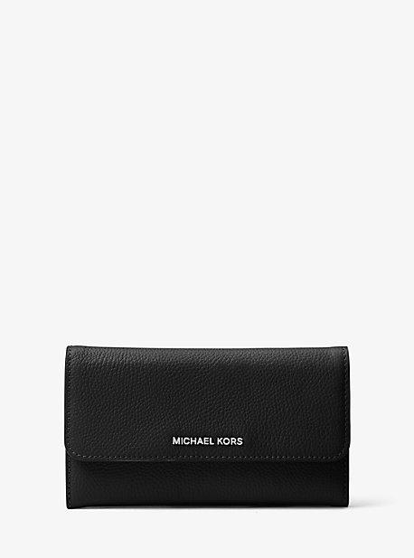 1046909fdc24 Tri-fold Leather Wallet | Michael Kors