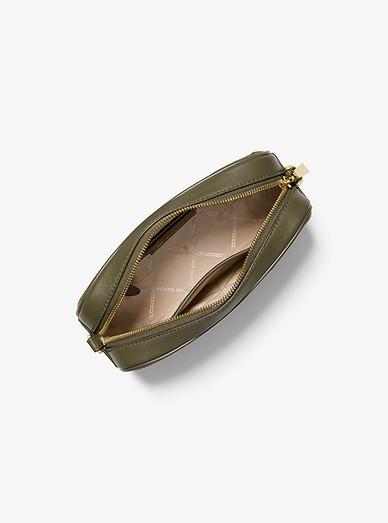 1190d4860b7baa Ginny Medium Deco Quilted Leather Crossbody Bag | Michael Kors