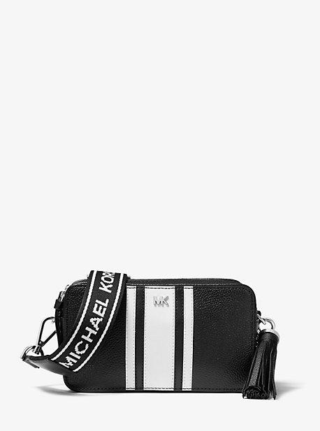 Small Logo Tape Camera Bag | Michael Kors