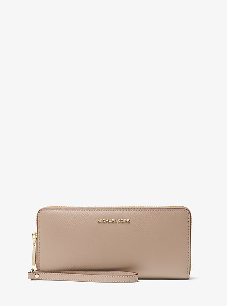 dccec39c9165 Crossgrain Leather Continental Wristlet · michael michael kors · Crossgrain  Leather Continental Wristlet