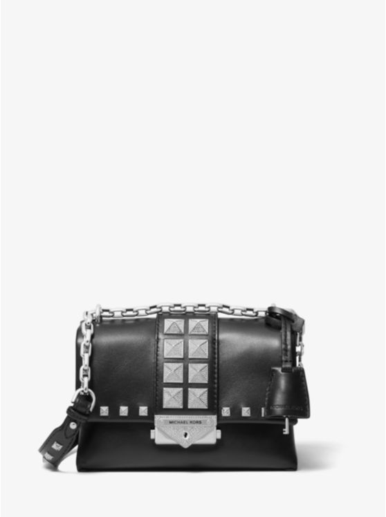 Cece Extra-Small Studded Leather Convertible Crossbody Bag