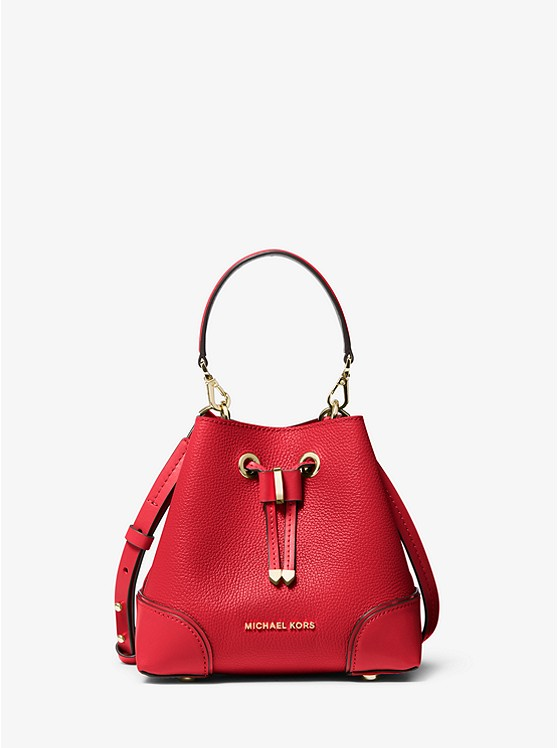 Mercer Gallery Extra-Small Pebbled Leather Crossbody Bag