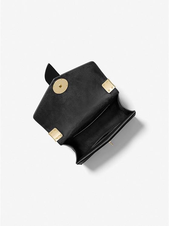 Greenwich Small Saffiano Leather Crossbody Bag