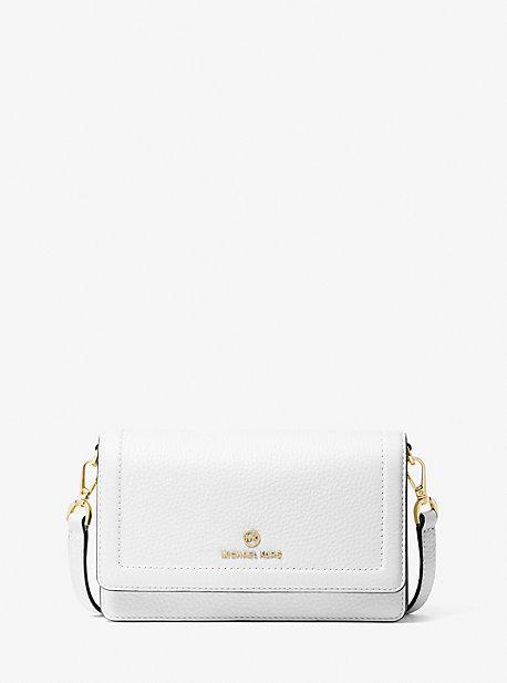마이클 마이클 코어스 젯셋 크로스바디백 스몰 Michael Michael Kors Jet Set Small Pebbled Leather Smartphone Convertible Crossbody Bag