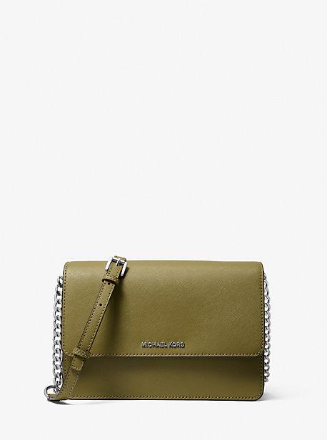 Daniela Large Saffiano Leather Crossbody Bag | Michael Kors
