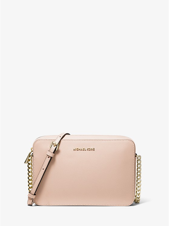 2788e9bae Jet Set Large Saffiano Leather Crossbody | Michael Kors