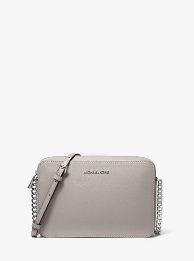 ead94e60083 Jet Set Large Saffiano Leather Crossbody Bag