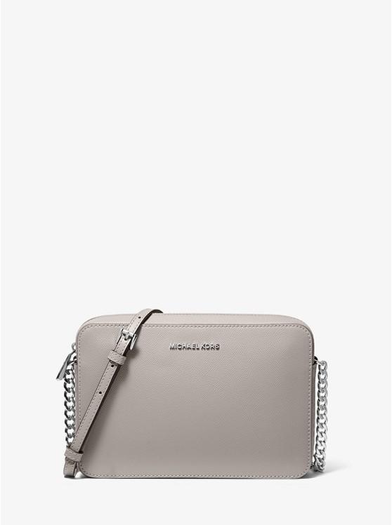 purchase authentic best online best Jet Set Large Saffiano Leather Crossbody Bag