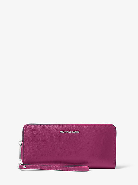 61371d96718fe2 Saffiano Leather Continental Wallet | Michael Kors