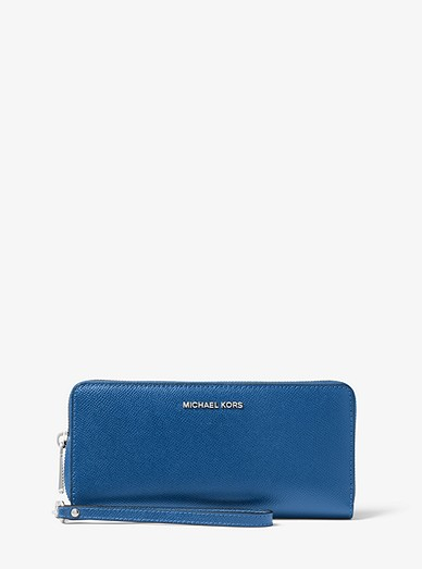 7282d925185a Saffiano Leather Continental Wallet