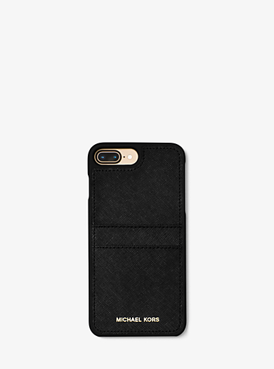 53148104151d Saffiano Leather Phone Case For iPhone7 8 Plus