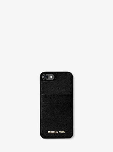 3d101ab9fa Saffiano Leather Phone Case For Iphone7/8 | Michael Kors