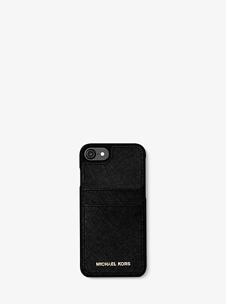 08ff0d84ee Saffiano Leather Phone Case For iPhone7/8 | Michael Kors